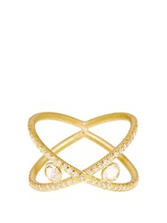 Susan Foster Diamond And Yellow Gold Ring