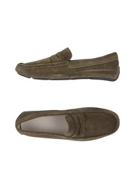 Hogan Loafers Military Green