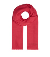 Burberry Shoes And Accessories Lightweight Cashmere Scarf Female Red