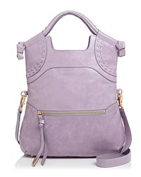 Foley Corinna And Violetta Lady Leather Tote Lavender Gold