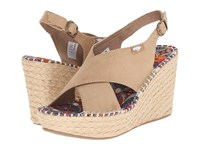 Rocket Dog Rue Sand Coast Women's Wedge Shoes Neutral
