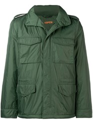 Aspesi Military Style Jacket Green