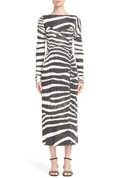 Marc Jacobs Women's Zebra Print Jersey Dress