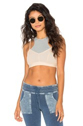 Free People Fly Girl Bra Gray