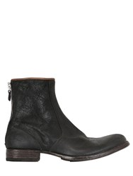 Moma Reverse Horse Leather Boots
