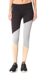 Splits59 Stadium Tight Leggings Black Light Heather Grey Khaki