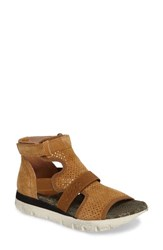 Otbt Women's Astro Perforated Gladiator Sandal Fall Leaf Leather