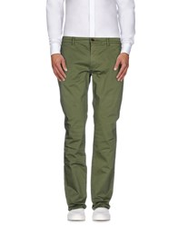 Franklin And Marshall Trousers Casual Trousers Men Military Green