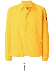 Calvin Klein Jeans Ossin Coach Jacket Yellow And Orange
