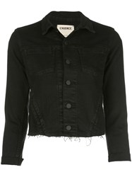L'agence Cropped Jacket Black