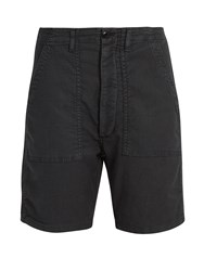 The Great Army Low Slung Woven Shorts Black