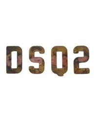 Dsquared2 Jewellery Brooches Men Copper