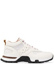 Z Zegna Lace Up Sneakers White