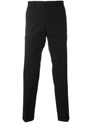 Dolce And Gabbana Tailored Side Stripe Trousers Black