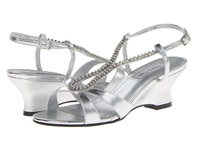 Touch Ups Regina Silver Metallic Women's Sandals