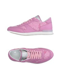Blumarine Footwear Low Tops And Trainers Women Pink