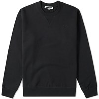 Mcq By Alexander Mcqueen Swallow Patch Crew Sweat Black