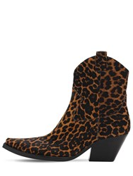 Jeffrey Campbell 70Mm Ponyskin Leather Boots Multicolor