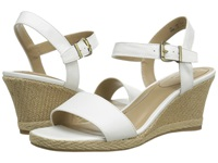 Lifestride Reagan White Women's Wedge Shoes