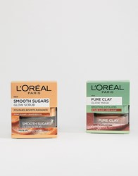 L'oreal Radiance Boosting Skincare Kit Clear