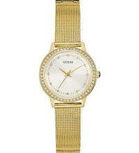 Guess W0647l7 Chelsea Gold Plated Stainless Steel Watch