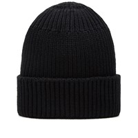 Stone Island Shadow Project Winter Cotton Beanie Black