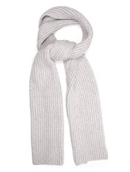 Baja East Chunky Fisherman Knit Cashmere Scarf