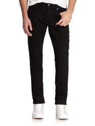Frame L'homme Slim Fit Jeans Black