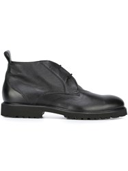 Baldinini Chunky Sole Short Boots Black