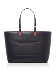 Paul Smith Colour Band Tote Blue