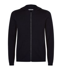 Sandro Wire Zip Up Sweater Male Black