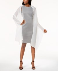 Inc International Concepts Tassel Pleated Wrap Created For Macy's White