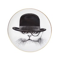 Rory Dobner Perfect Plates Cat Hat Down Large