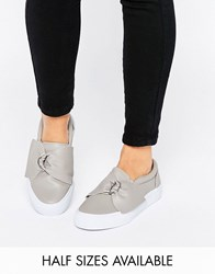 Asos Digger D Ring Trainers Grey