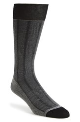 Men's Hook Albert Herringbone Socks Grey