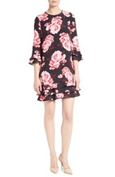 Kate Spade Women's New York Rosa Ruffle Shift Dress