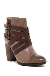 Sofft Arminda Strappy Bootie Gray