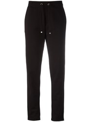 Moncler Piped Track Pants Black