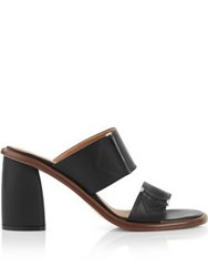 Miista Mirta Block Heeled Mules Black
