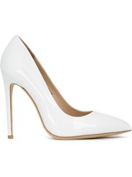 Gianni Renzi Pointed Toe Stilettos White
