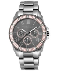 Vince Camuto Women's Gray Stainless Steel Bracelet Watch 43Mm Vc 5159Pkgy