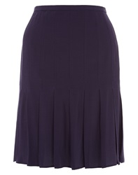 Nougat London Nougat Stitched Down Pleat Skirt Purple