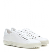 Tod's Cassetta Gomma Leather Sneakers