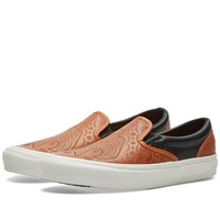 Vans Vault X Taka Hayashi X Brooks Og Classic Slip On Lx Brown