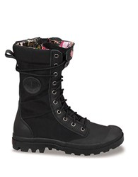 Palladium Pampa Tactile Combat Boots Black
