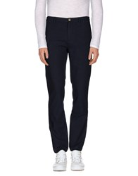 M.Grifoni Denim Trousers Casual Trousers Men Dark Blue