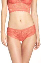 Chelsea 28 Women's Chelsea28 Hipster Panty Coral Spice