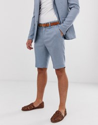 Only And Sons Suit Shorts Blue