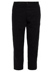 Oliver Spencer Judo Cotton Twill Trousers Black