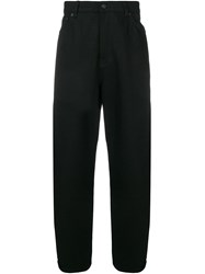 Tom Wood Extra Baggy Trousers Black